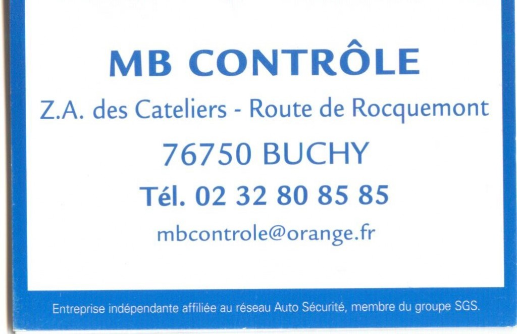 MB CONTROLE